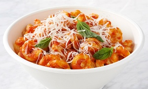 The Pasta Co-Op: Fresh, Gourmet Pasta Dinner for Two or Four at Pasta Co Op (Up to 47% Off)