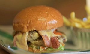 FEED: Burger or Hot Dog with Fries and Beer for Two or Four at FEED (Up to 67% Off)