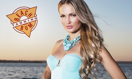 Two Sunless Tans, Airbrush Tans, or Tanning-Bed/Booth Sessions at Beach Bum Tanning (Up to 72% Off)