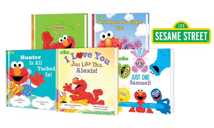 Put Me In The Story: One, Three, or Five Personalized Sesame Street Kids' Storybooks from Put Me In The Story (Up to 61% Off)