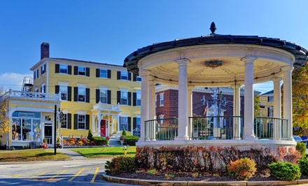 Groupon Deal: 2-Night Stay for Two with Dining Credit, Bottle of Wine, and Bike Rental at the Inn by the Bandstand in Exeter, NH