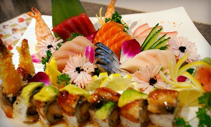 Chopstix Asian Bistro and Lounge - Chopstix: $15 for $30 Worth of Sushi and Pan-Asian Cuisine for Two or More at Chopstix Asian Bistro and Lounge