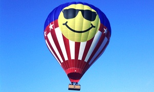 Heart of Texas Hot Air Balloon Rides: Hot Air Balloon Ride for One, Two, or Six from Heart of Texas Hot Air Balloon Rides (Up to 58% Off)