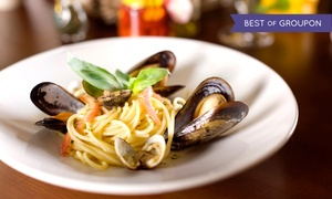 Ristorante i Ricchi: Italian Dinner for Two or Four, Lunch for Two, or Lunch or Dinner Takeout at Ristorante i Ricchi (Up to 60% Off)