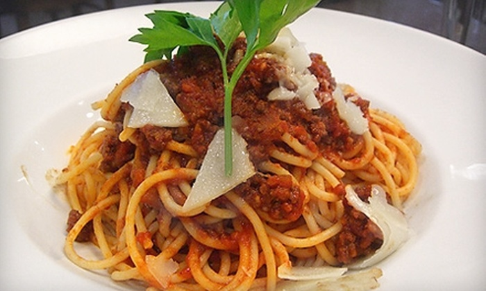 La Casa Della Pasta - Multiple Locations: Italian Dinner for Two or More or for Four or More at La Casa Della Pasta (Up to 53% Off)