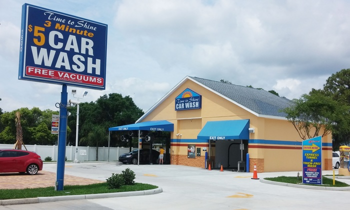 Time to Shine Car Wash - Auburndale: Up to 52% Off Ultimate Car Washes at Time to Shine Car Wash