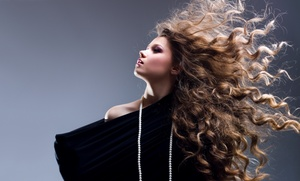 Euphoria Beauty Lounge: Blowout or Haircut Packages at Euphoria Beauty Lounge (Up to 60% Off). Four Options Available.