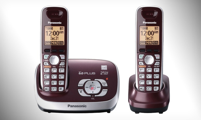 Panasonic Digital Cordless Two-Phone Set: $39.99 for Panasonic Cordless Phone Set (Manufacturer Refurbished) ($69.95 List Price). Free Shipping and Free Returns.