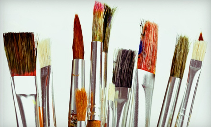 Paint-n-Party - Dallas: BYOB Painting Class for 2 or 4 or Private BYOB Painting Party for Up to 10 at Paint-n-Party (Up to 57% Off)
