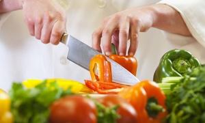 DALLA TERRA AL CIELO: Menu vegano di 6 o 8 portate take away o servito (sconto fino al 73%)