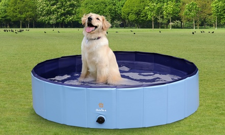 Portable Heavy Duty Pet Pool for Summer: Small ($29) or Large ($39)