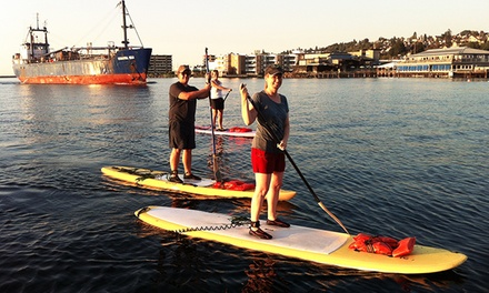 One or Two Two-Hour Standup-Paddleboard Rentals at Surf Ballard (Up to 46% Off)
