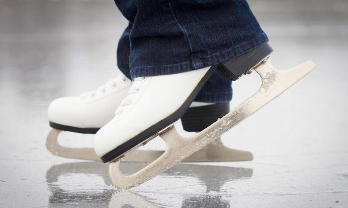 Iceland Ice Skating Rink - North Sacramento: Ice Skating for Two or Four or Four Ice Skating Lessons at Iceland Ice Skating Rink (Up to 50% Off)