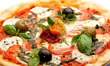 Pizza, Salad, and Drinks for Two or Four at The Loop Pizza Grill (Up to 46% Off)