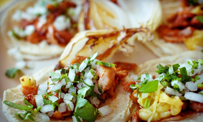 Tortilla Maria - Eastside: Organic Mexican Food and Smoothies for Two or Four, or $7 for $15 Worth of Organic Mexican Cuisine at Tortilla Maria