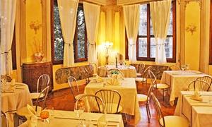 A casa mia (Monastier): Menu di carne con bis di antipasti, bis di primi, secondo, dolce e un calice di vino da A Casa Mia (sconto fino a 57%)