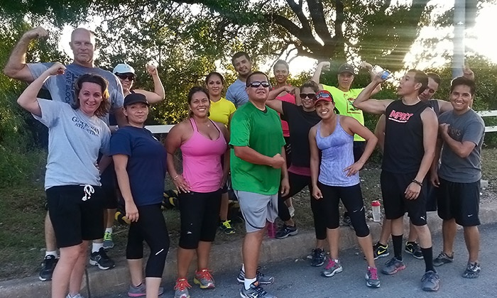 Impact Boot Camp - Far West Side: 5 or 10 One-Hour Outdoor Boot-Camp Classes from Impact Boot Camp (Up to 80% Off)