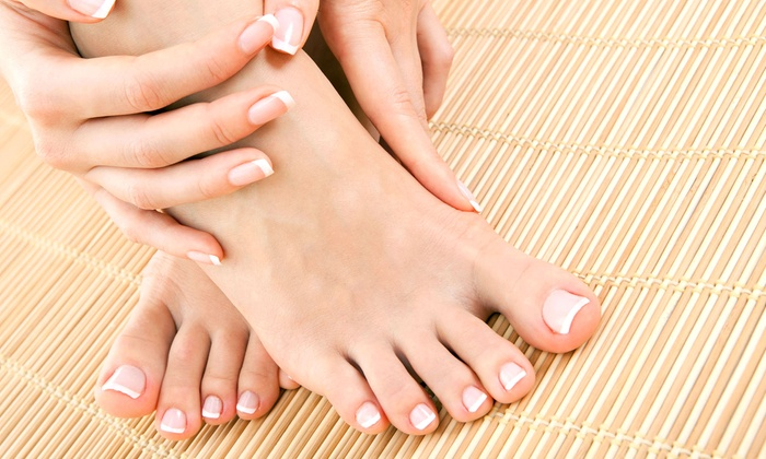 Hannah Huynh at Salon Sol - Salon Sol: One or Two Spa Manicures with European Spa Pedicures from Hannah Huynh at Salon Sol (Up to 54% Off)