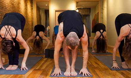 5 or 10 Heated Vinyasa Yoga Classes or One Month of Unlimited Classes at Brooklyn Yoga Project (Up to 58% Off)