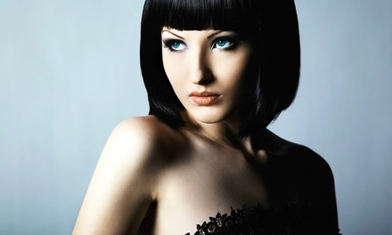 Cut and Style with Option for Color or Highlights at Belle Ross Salon and Spa (Up to 50% Off)