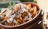 Menu tipico marocchino e bibita