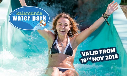 Water Park Entry for Two ($18), Four ($33) or Six People ($47) to Kalamunda Water Park (Up to $102 Value)