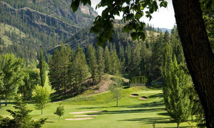 Twin Lakes Golf Course - Penticton: 18-Hole Round of Golf with Cart and Range Balls for Two or Four at Twin Lakes Golf Course (52% Off)