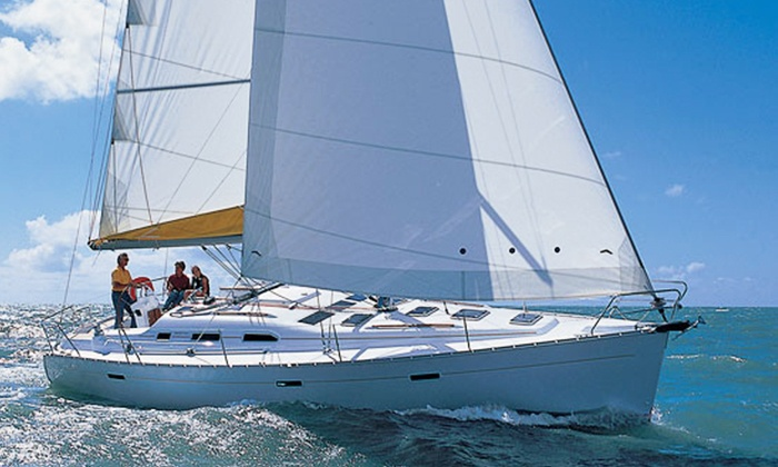 Blue Water Sailing School - East Fort Lauderdale: One-Week Boat-Skipper Course at Sea for One or Two from Blue Water Sailing School (Up to 45% Off)