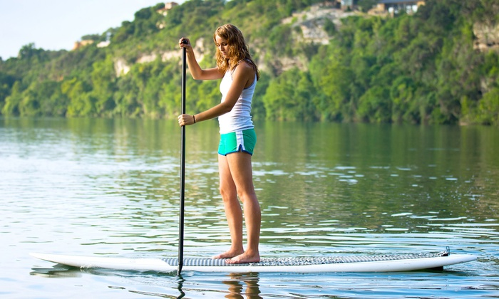 H2O Trash Patrol - Townsite: One-Hour Standup-Paddleboard Lesson with Board Rental for One or Two at H2O Trash Patrol (Up to 64% Off)