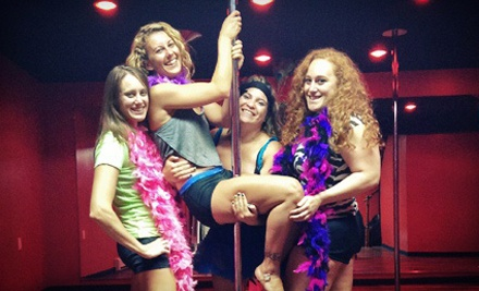 Private Pole-Dancing Party for Up to 5 or 10 Girls at Tease Time Pole Fitness (Up to 63% Off)