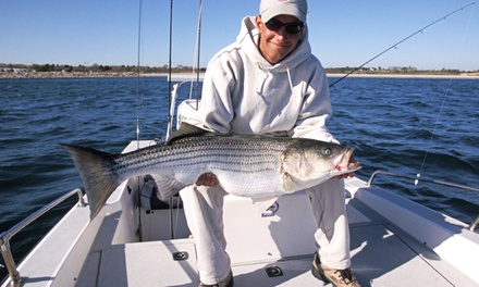 $27for a Half-Day Fishing Trip from Pierpoint Landing ($45Value)