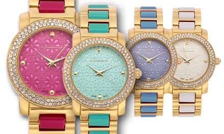 Swarvoski Element Collection Jeanneret Rosa Women's Watch