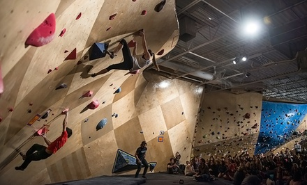 One-Month Rock-Climbing, Yoga, and Fitness Membership at The Front Climbing Club (Up to 51% Off). Three Options Available.