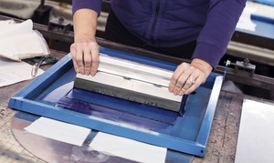 Gowanus Print Lab: Three-Hour Screenprinting Workshop at Gowanus Print Lab (51% Off). Four Options Available.