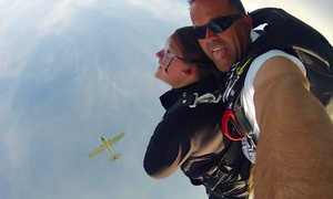 Skydive South Boston: Tandem Skydive for One or Two from Skydive South Boston (Up to 41% Off)