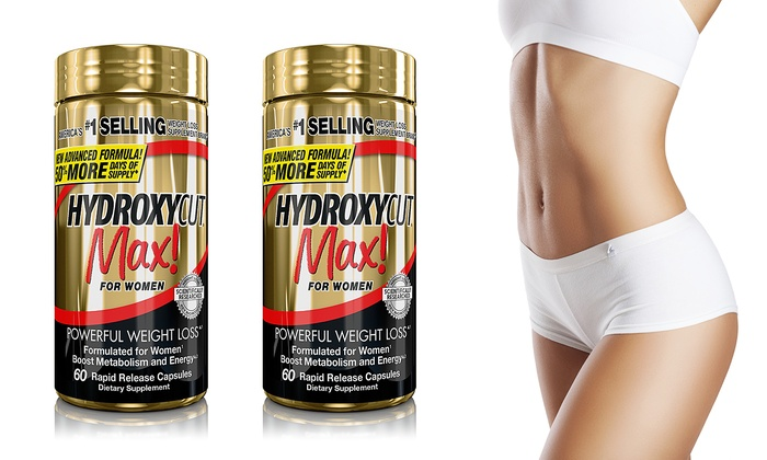 Buy 1 Get 1 Free Hydroxycut Max For Women Weight Loss Supplement