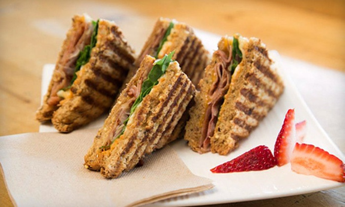 The Brimm Cafe - Penticton: Breakfast or Lunch for Two or Four with Sandwiches or Wraps and Coffee at The Brimm Cafe (Up to 61% Off)