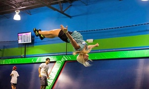 Rebounderz Apopka: Two or Four One-Hour Jump Passes with Bottled Water at Rebounderz Apopka (37% Off)