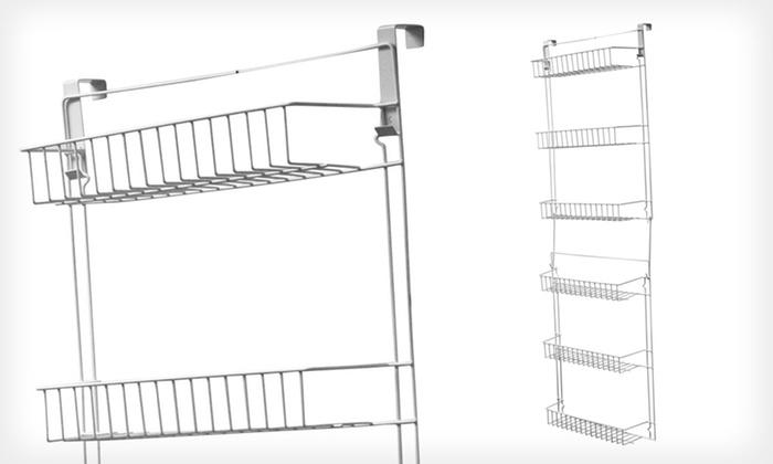 5 Ft. Door Hanging Basket Storage Rack. Free Returns.