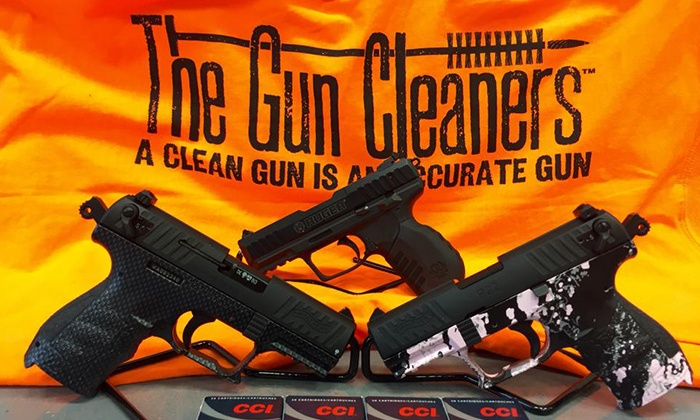 The Gun Cleaners of Maine - South Portland: Pistol Cleaning or Rifle, Shotgun, or AR Platform Firearm Cleaning at The Gun Cleaners of Maine (Up to 50% Off)