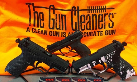 Pistol Cleaning or Rifle, Shotgun, or AR Platform Firearm Cleaning at The Gun Cleaners of Maine (Up to 50% Off)