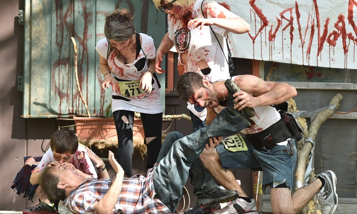 The Zombie Run - The Zombie Run: Runner or Zombie Admission to the Zombie Run Long Island on August 20 (Up to 61% Off)