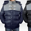 Denim Style Imperial Puffer Jacket