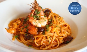 MariLuca Ristoro: Three-Course Italian Dinner for Two ($69) or Four People ($135) at MariLuca Ristoro (Up to $238 Value)