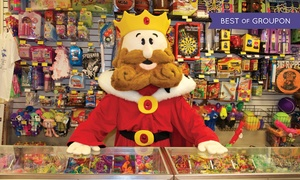 Kiddie Kingdom: $18 for Arcade Outing with 100 Tokens and 14-Inch One-Topping Pizza at Kiddie Kingdom ($33.70 Value)