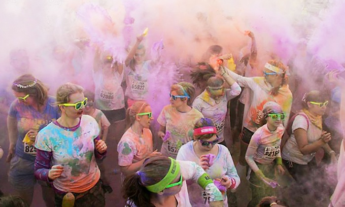 Color Me Rad - Wells Fargo Center: $29 for Color Me Rad 5K Entry on Saturday, August 30 at Wells Fargo Center (Up to $50 value)