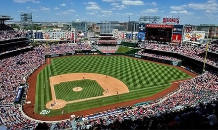Washington Nationals Game at Nationals Park on September 23, 25, or 26 (Up to Half Off).  3 Seating Options Available.