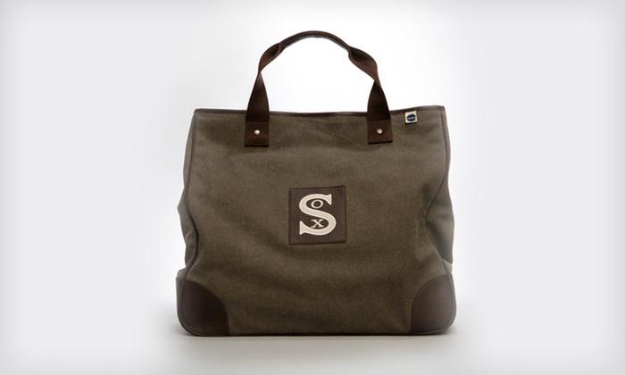 Baltimore Black Sox Tote Bag: $49 for a Blue Marlin Baltimore Black Sox Tote Bag ($130 List Price)