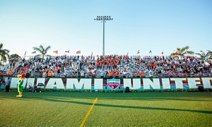 Miami United FC: Two Single-Game Tickets or Season Tickets for Two or Four for Miami United FC at Flamingo Park Stadium (Up to 50% Off)