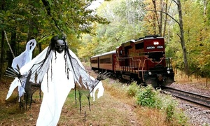 New Hope & Ivyland Railroad: Fall Foliage or Haunted Train Ride for One or Two Adults at New Hope & Ivyland Railroad (Up to 34% Off)